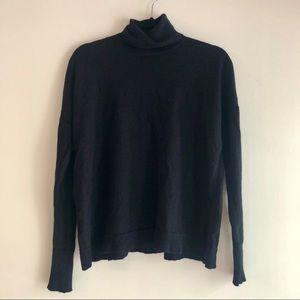 J. Crew Black Turtleneck Sweater